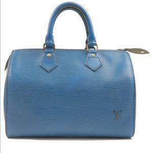 Authentic Louis Vuitton Epi Speedy purse